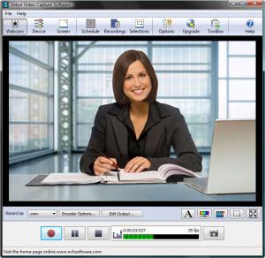Debut Video Capture Software - náhled