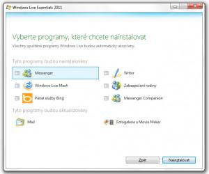Windows Essentials - náhled