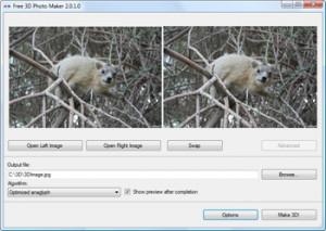 Free 3D Photo Maker - náhled