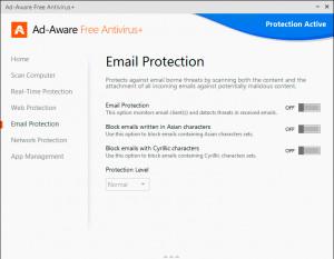 Ad-Aware Free Antivirus+ - náhled