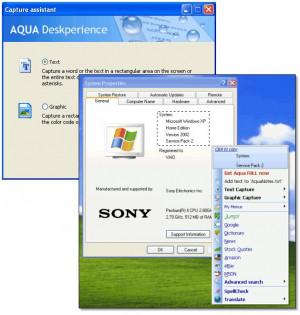 Aqua Deskperience - náhled
