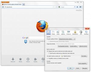 Mozilla Firefox - náhled
