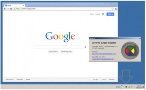 Google Chrome Speed Booster - náhled