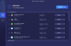 IObit Software Updater - náhled