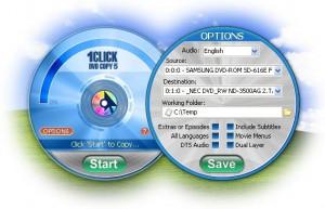 1Click DVD Copy - náhled