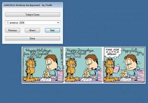 Garfield Desktop - náhled