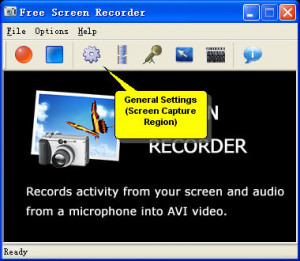 Free Screen Recorder - náhled