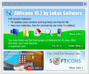 AWicons Lite - náhled