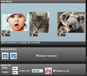 Free GIF Slideshow - náhled