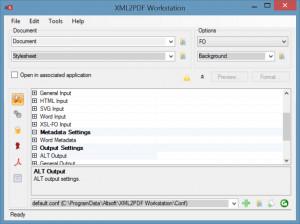XML2PDF Workstation - náhled