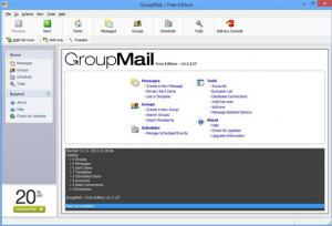 GroupMail - náhled