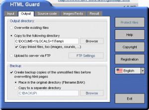 HTML Guard - náhled