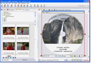 Acoustica CD/DVD Label Maker - náhled