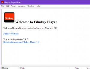 Filmkey Player - náhled