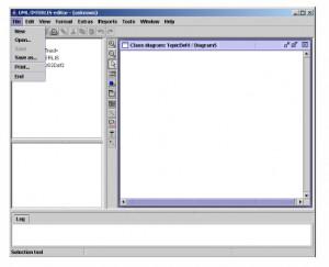 UML-Editor - náhled