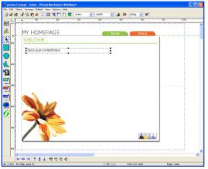 WebDwarf Free Web Page Maker - náhled