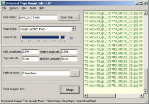 Universal Maps Downloader - náhled