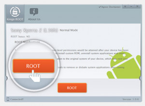 Kingo Android Root - náhled
