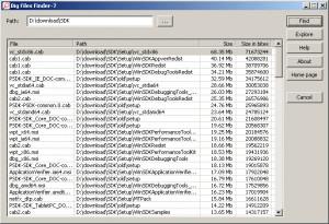 Big Files Finder-7 - náhled