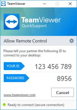 TeamViewer - náhled