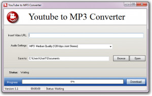 Youtube to MP3 - náhled