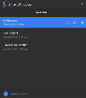 SmartWindows - náhled