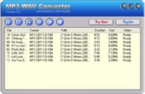 MP3 to WAV Converter - náhled