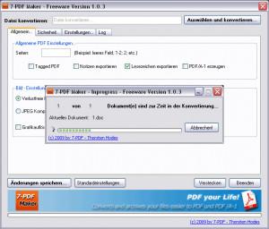7-PDF Maker - náhled