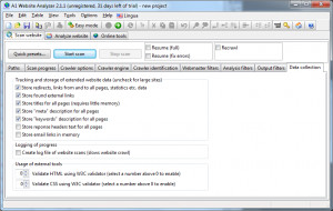 A1 Website Analyzer - náhled