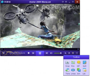 QQ Player - náhled