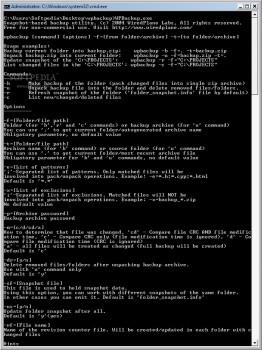 WPBackup - náhled