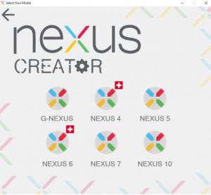 Nexus Creator - náhled