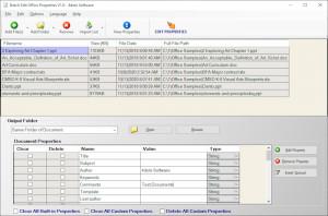 Batch Edit Office Properties - náhled