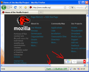 Google +1 Button for Firefox - náhled