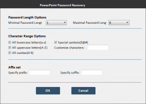 Free PowerPoint Password Recovery - náhled