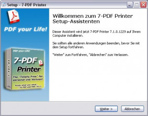 7-PDF Printer - náhled