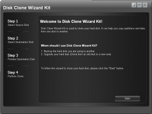 Disk Clone Wizard Kit - náhled