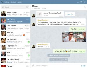 Telegram Desktop - náhled