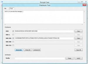Encrypt Care - náhled