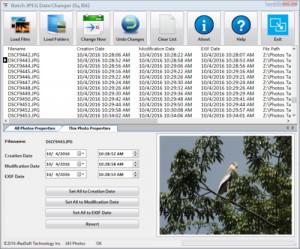 Batch JPEG Date Changer - náhled