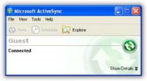 ActiveSync - náhled