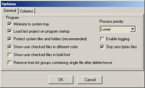 Fast Duplicate File Finder - náhled