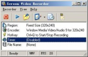 Screen Video Recorder - náhled