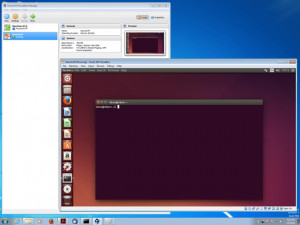 VirtualBox - náhled