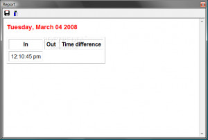 ArGoSoft Time Tracker - náhled