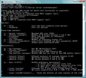 x264 Video Codec  - náhled