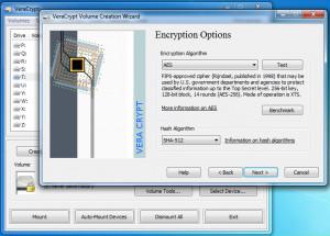 VeraCrypt - náhled