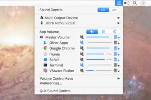 Sound Control - náhled
