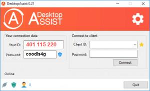 DesktopAssist - náhled