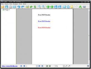 Free PDF Reader - náhled